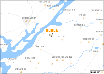 map of Hodge