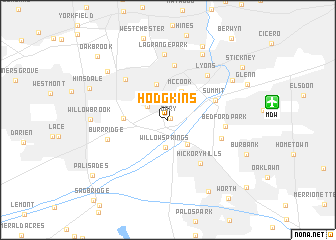 Hodgkins Illinois IL Profile Population Maps Real Top - Map of the us hodgkins ilinois