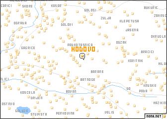 map of Hodovo