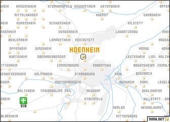 map of Hoenheim