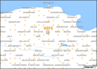 map of Hofe