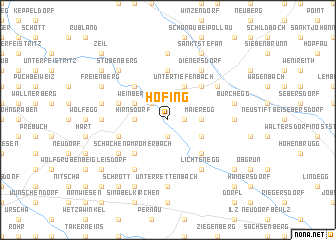 map of Hofing