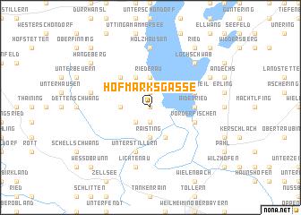 map of Hofmarksgasse