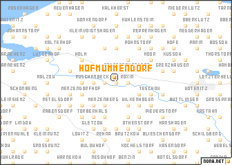 map of Hof Mummendorf