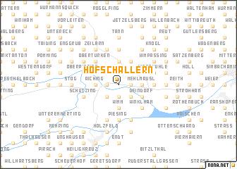 map of Hofschallern