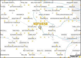 map of Hofwiese