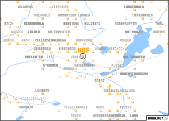 map of Hof