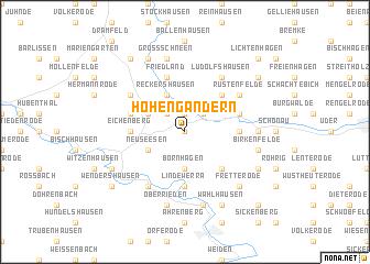 map of Hohengandern