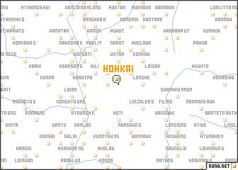map of Ho Hkai