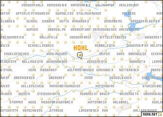 map of Hohl