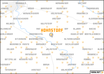 map of Hohnstorf