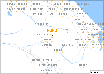 map of Họ Hồ