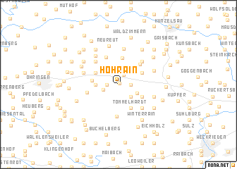 map of Hohrain