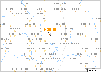 map of Ho-hwè
