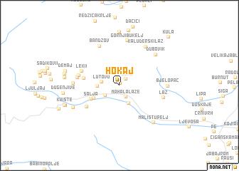 map of Hokaj