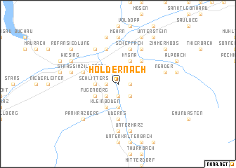 map of Holdernach