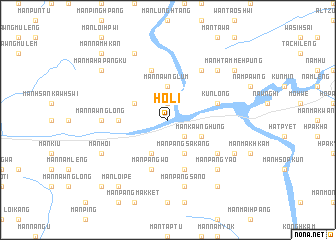 map of Ho-li