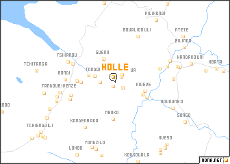 map of Holle