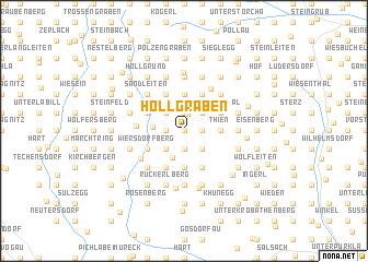 map of Höllgraben