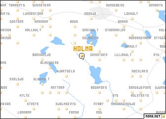 map of Holma
