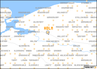 map of Holm