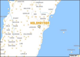 map of Holomaynon