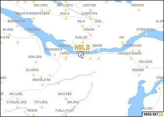 map of Holo
