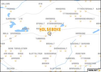 map of Hölseböke