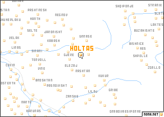 map of Holtas