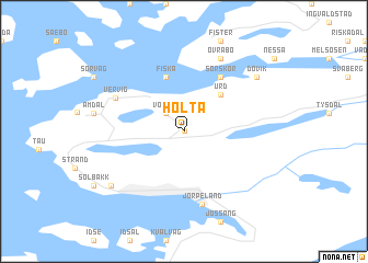 map of Holta