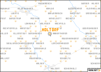 map of Holtorf