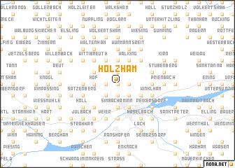 map of Holzham