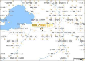 map of Holzhausen