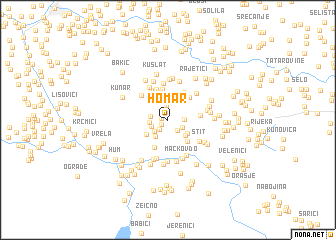 map of Homar