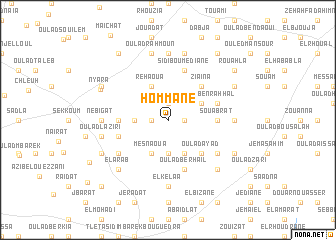 map of Hommane