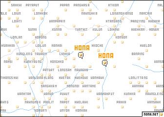 map of Ho-na