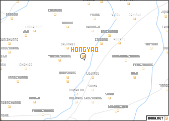 map of Hongyao