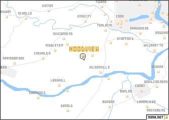 map of Hoodview