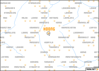 map of Ho-ong