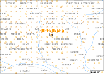 map of Hopfenberg