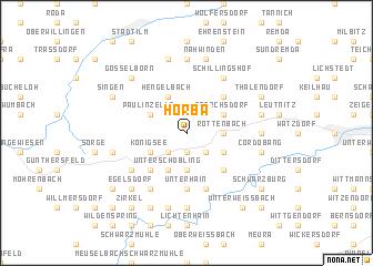 map of Horba