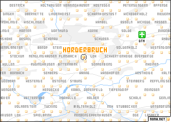 map of Hörder Bruch