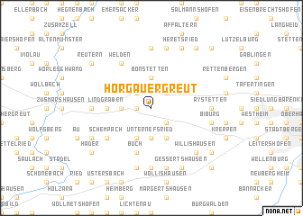 map of Horgauergreut
