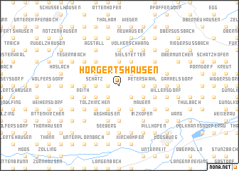 map of Hörgertshausen