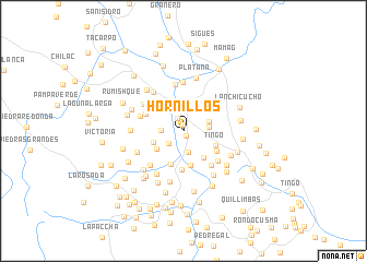 map of Hornillos