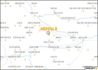 map of Horodło