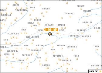 map of Horonu