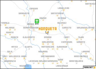 map of Horqueta