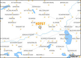 map of Horst
