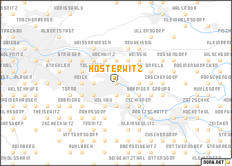 map of Hosterwitz
